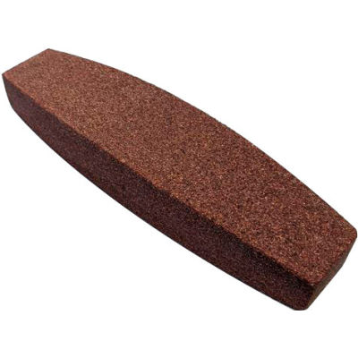 "Grier Abrasives Stone Boat, 1-1/2"" x 9"" x 2-1/2"" Shank, 60, Red - Pkg Qty 10"