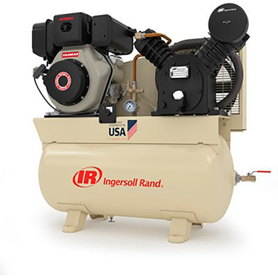 Ingersoll Rand 2475F10DY 10 HP Diesel Engine Reciprocating Compressor