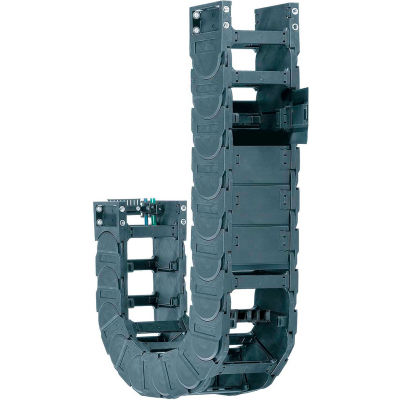 """Igus® 5050-25-250-0-5 Energy Chain® System, 4.25"""" x 11.81"""" Outside, 9.84"""" Bend, 5' Length"""