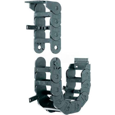 IGUS R3480-175-100-0 Igus R3480-175-100-0 Energy Chain Cable Carrier, Enclosed Hinge Lid