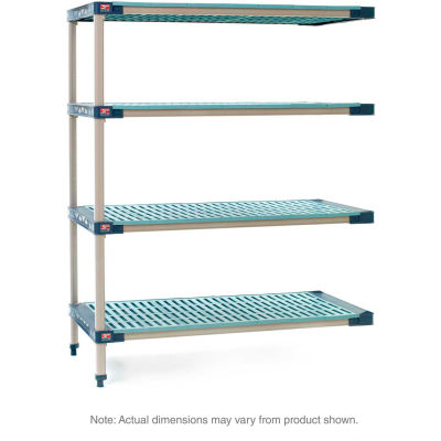 "MetroMax 4 4-Tier Add-On Unit - 36""W x 21""D x 63""H"