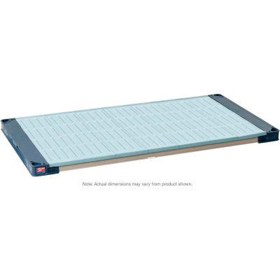 "MetroMax 4 Polymer Shelf with Solid Mat - 48""W x 18""D"