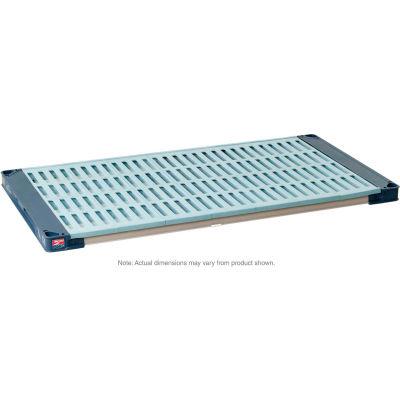 "MetroMax 4 Polymer Shelf with Grid Mat - 24""W x 21""D"
