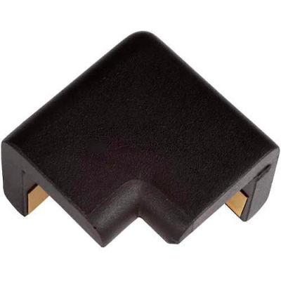 Knuffi 2D Black Protective Corner, Type H, Black, 60-6786