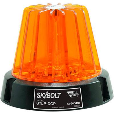 Ideal Warehouse SkyBolt Low Profile LED DC Strobe Light 12-36 Volts 70-1035 Magnetic Mount - Amber