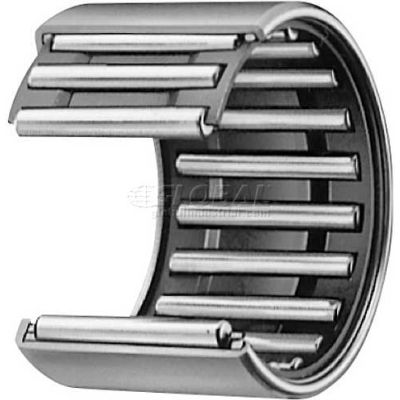 "IKO Shell Type Needle Roller Bearing INCH, 13/16 Bore, 1-1/16 OD, 1.250"" Width"