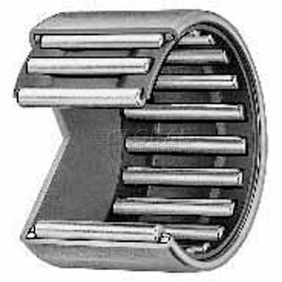 "IKO Shell Type Needle Roller Bearing INCH, Closed End, 9/16 Bore, 3/4 OD, .750"" Width"