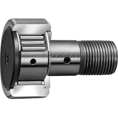 "IKO Cam Follower-INCH Caged Crowned OD Screwdriver Slot DBL Sealed 1-1/4"" OD 3/4""W 1/2 - 20 THR"
