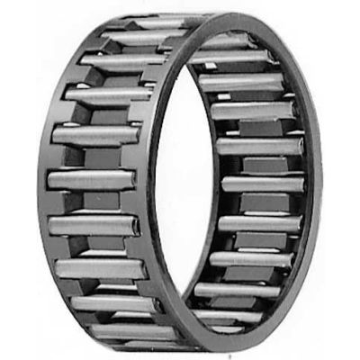 IKO Needle Roller Cage Assembly, 36mm Bore, 42mm OD, 16mm W, Steel Cage Material