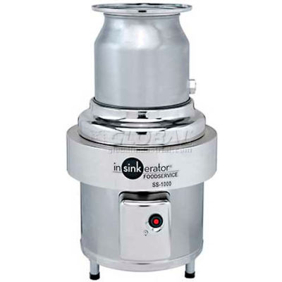 InSinkErator SS-1000 Commercial Garbage Disposer Only, 10 HP