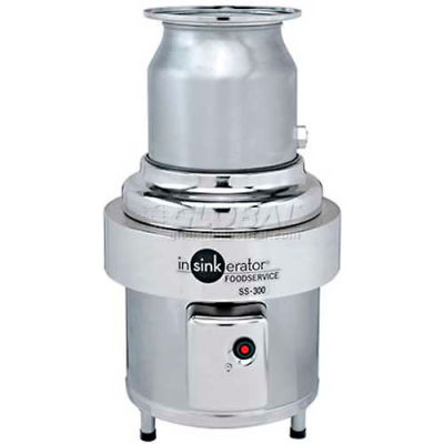 """InSinkErator SS-300-12A-CC202 Commercial Garbage Disposer W/12"""" Bowl, 3 HP"""