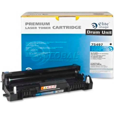Elite® Image Drum Unit 75497, Remanufactured, Black