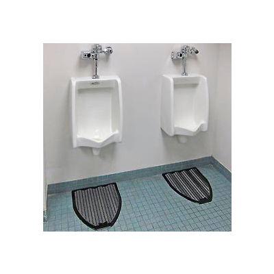 Impact® Urinal Mat - Fresh Scent, Black W/ Touch Fastener Z-Mat, 6-Pack - 1525-5 - Pkg Qty 6