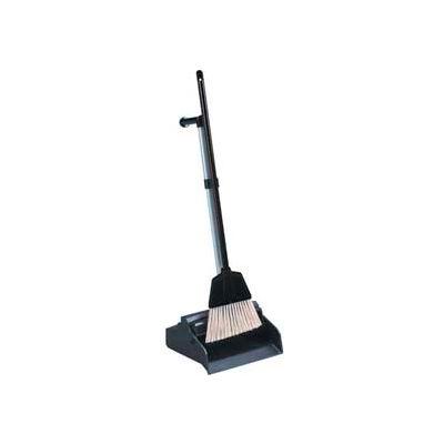 Impact® Lobbymaster® Plastic Lobby Dust Pan Combo Broom W/ Clip, 2610 - Pkg Qty 4