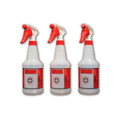 """Impact Products Pre-Printed Spray Alert™ System, Natural/Red/Black, 11"""" - 5032SS - Pkg Qty 24"""