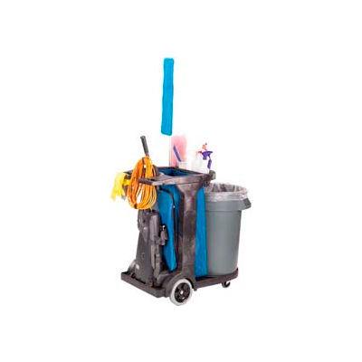 Impact® Gator® Compact Cart W/ 25-Gallon Blue Vinyl Bag, 6855
