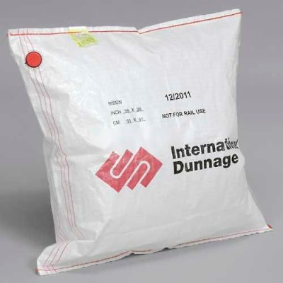"""International Dunnage Polywoven Dunnage Air Bags, 10 Ply, 30""""W x 96""""L - Pkg Qty 195"""