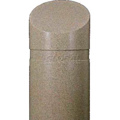 """Innoplast, DBC1139TG, Decorative Bollard Cover, Tan Granite, 11"""" x 39"""""""