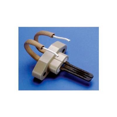 "Hot Surface Furnace Ignitor w/ Gasket, 10-1/2"" Lead Wire Length"