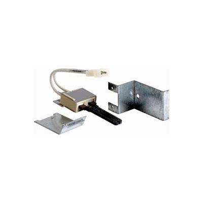 """Hot Surface Furnace Ignitor w/ Mounting Adaptors, 5-1/4"""" Lead Wire Length"""