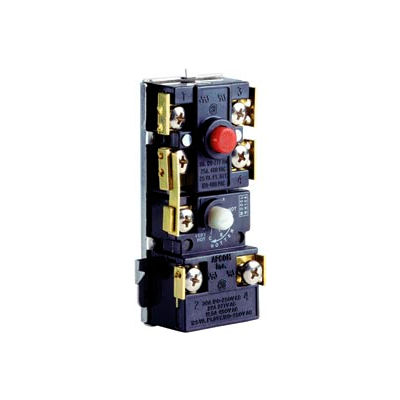 Water Heating Control - Upper Application, SPDT/DPST HIGH LIMIT Switch