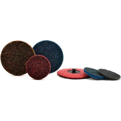 "Superior Abrasives 10549B Conditioning QC Disc Type S 3"" Aluminum Oxide Very Fine - Pkg Qty 25"
