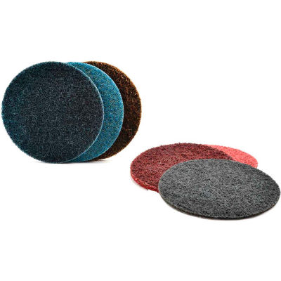 "Superior Abrasives 10577B Conditioning Disc Hook and Loop 4"" Aluminum Oxide Coarse - Pkg Qty 20"
