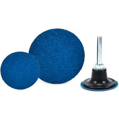 "Superior Abrasives 11262 QC Disc Type R 2"" Aluminum Oxide Medium - Pkg Qty 100"
