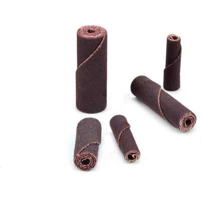 Superior Abrasives 18970 Cartridge Roll 3/16 x 1 x 3/32 Aluminum Oxide Very Fine - Pkg Qty 100