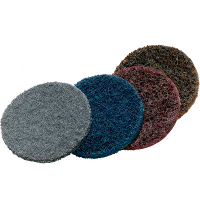"""Superior Abrasives 51457B Condition Disc Hook and Loop 5"""" Aluminum Oxide Coarse - Pkg Qty 20"""