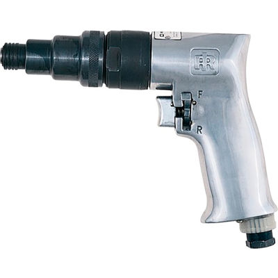 "Ingersoll Rand Standard Reversible Pistol Grip Pnuematic Screwdriver, 1/4"" Chuck, 1800 RPM"