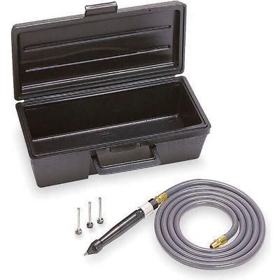 Ingersoll Rand Pneumatic Engraving Pen Kit with 3 Stylus, 2.5 CFM, 18750 BPM