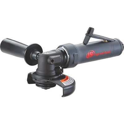 """Ingersoll Rand Rear Exhaust Angle Air Die Grinder, 1/4"""" Collet, 12000 RPM, 1 HP"""