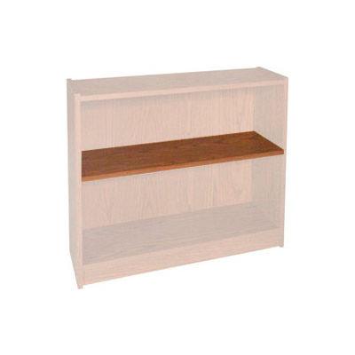 "Extra Shelf - 34-1/2""W x 11-1/2""D x 1"" Thick for Adj. Bookcase Medium Oak"