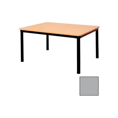 "Rectangle Library Table - 60""W x 30""D x 29""H Gray"
