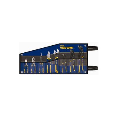 IRWIN VISE-GRIP® 2078712 8 PC. Set (Lng Nose, Slp Joint, Dia., Tng & Grv, Linesman, Adj. Wrnch)