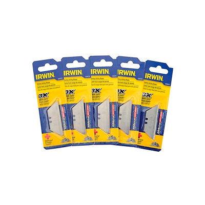 Irwin 2088100 Bi-Metal Safety Blade-5 pack