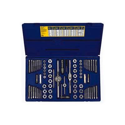 76 Pc. Machine Screw/Fractional/Metric Tap & Hex Die Super Set