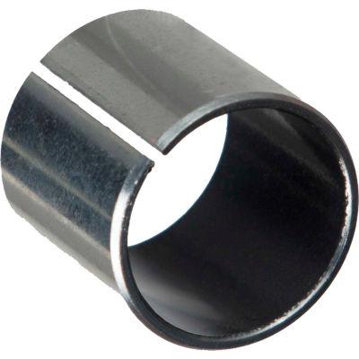 "Isostatic TU® Sleeve Bearing 501042, Steel-Backed PTFE Lined, 3/4""ID X 7/8""OD X 1""L"
