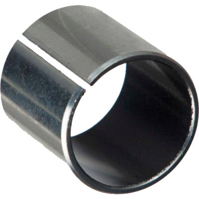 Isostatic TU® Sleeve Bearing 701061, Steel-Backed PTFE Lined, 20mm ID X 23mm OD X 10mm Long