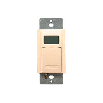 Intermatic EI600C Digital 7-Day Astro Timer 20 Amp 12-277VAC, 12-28VDC, Ivory