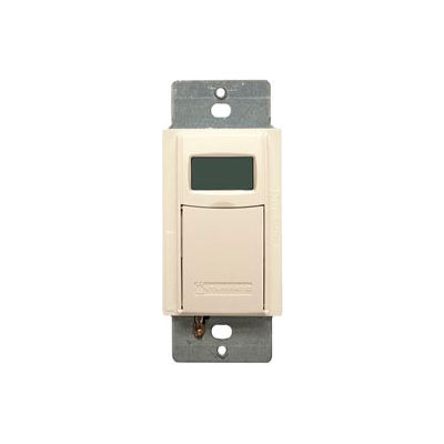 Intermatic EI600LAC Digital 7-Day Astro Timer 20 Amp 12-277VAC, 12-28VDC, Light Almond