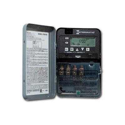 Intermatic ET1705C 7-Day 30 Amp SPST Electronic Timeswitch - Clock Voltage 120-277V NEMA 1