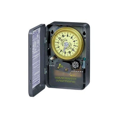 Intermatic T1975R NEMA 3R - 24 Hour Dial Time Switch W/Skipper, NEMA 3R Case, 125V, SPDT
