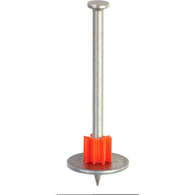 """ITW Ramset Ramset Drive Pin w/ Washer - .300 x 3"""" - Pkg of 100 - 07886"""