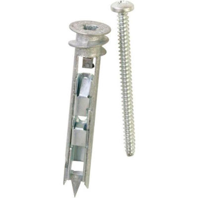 ITW E-Z Ancor 25320 - Toggle Lock 100 lb. Self-Drilling Drywall Anchor - Made In USA - Pkg of 25