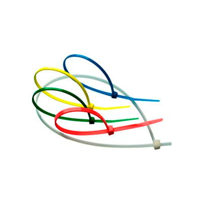 36 inch Long x 175 Lb Tensile Strength UL Recognized Cable Tie Natural 50 Pack