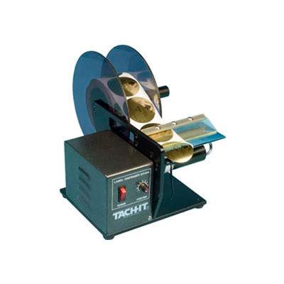 Tach-It® Premium Electric Automatic Label Dispenser, SH404TR, Transparent/Opaque Labels