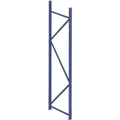 "Interlake Mecalux Bulk Storage Rack Upright 96""H x 36""D, 8,489 Lbs. Cap."
