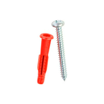 "ITW Red Head 35225 - 1-7/16"" Polypropylene Anchor Set"